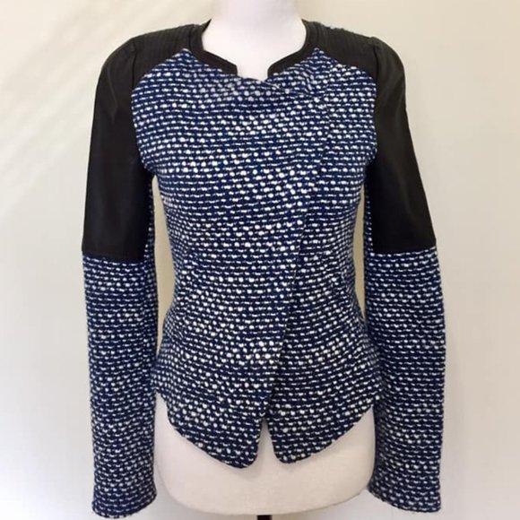 Zara Trafaluc Wool-blend Jacket XS